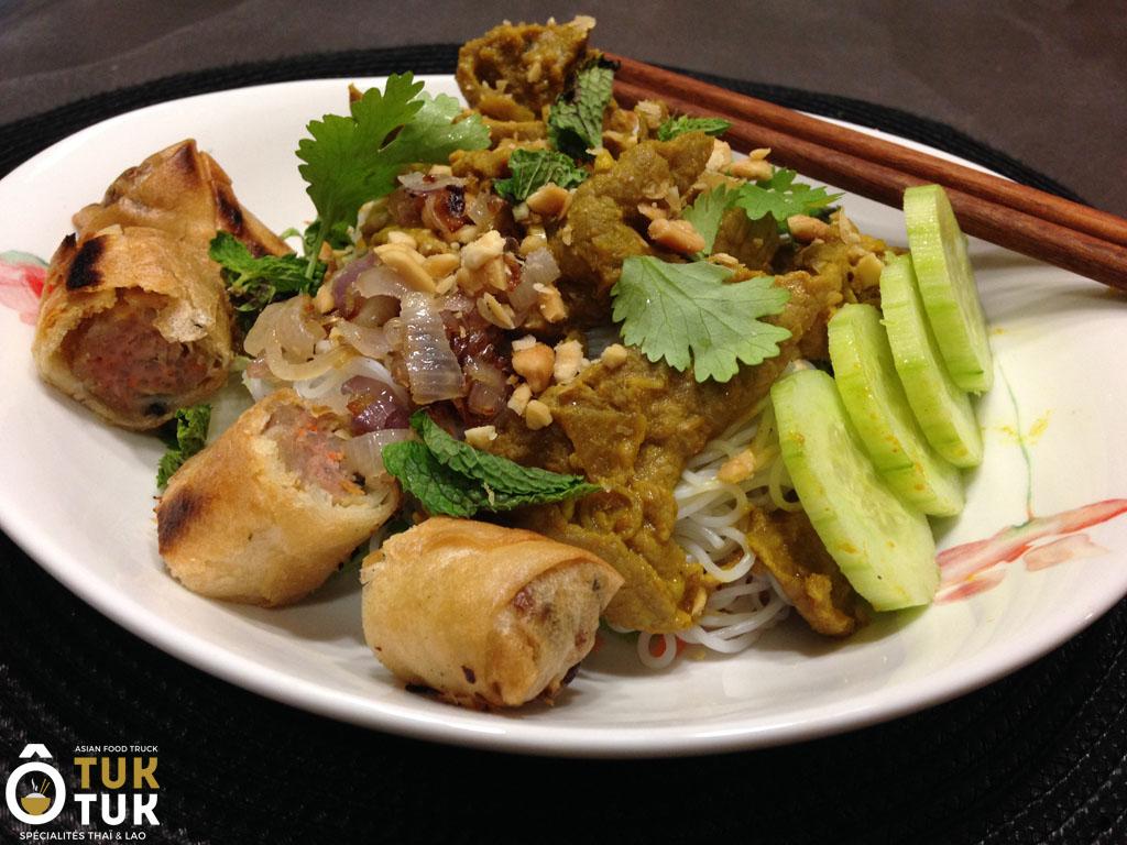 La Cuisine Thailandaise Et Laotienne O Tuk Tuk Food Truck