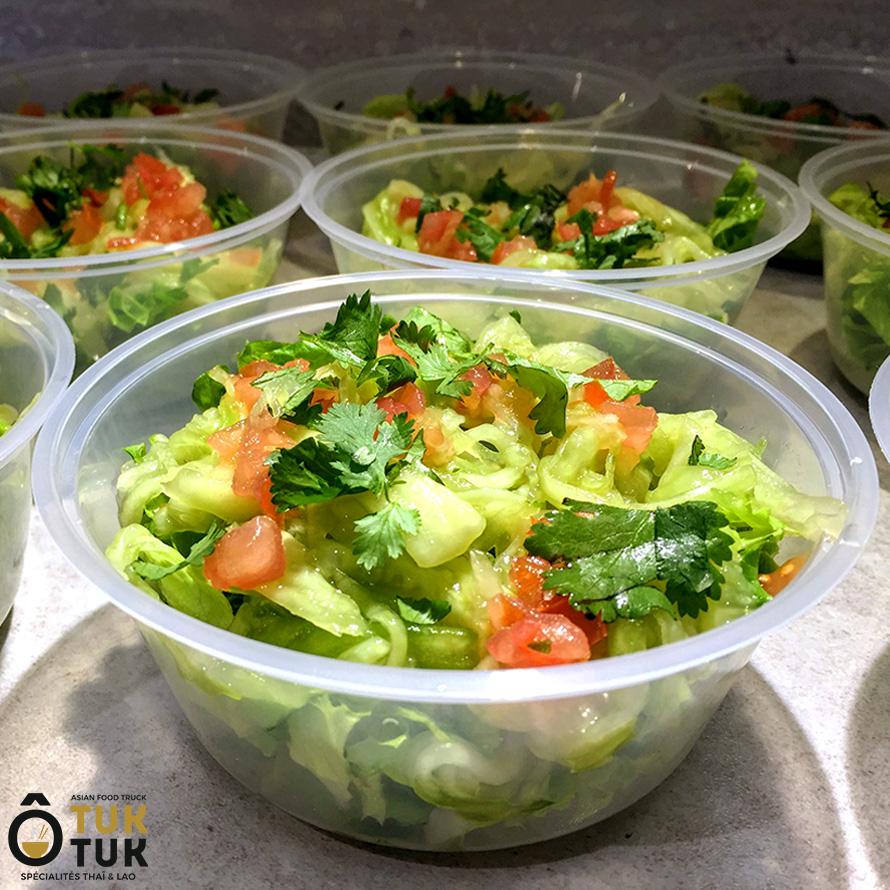entrée salade de concombres toulouse