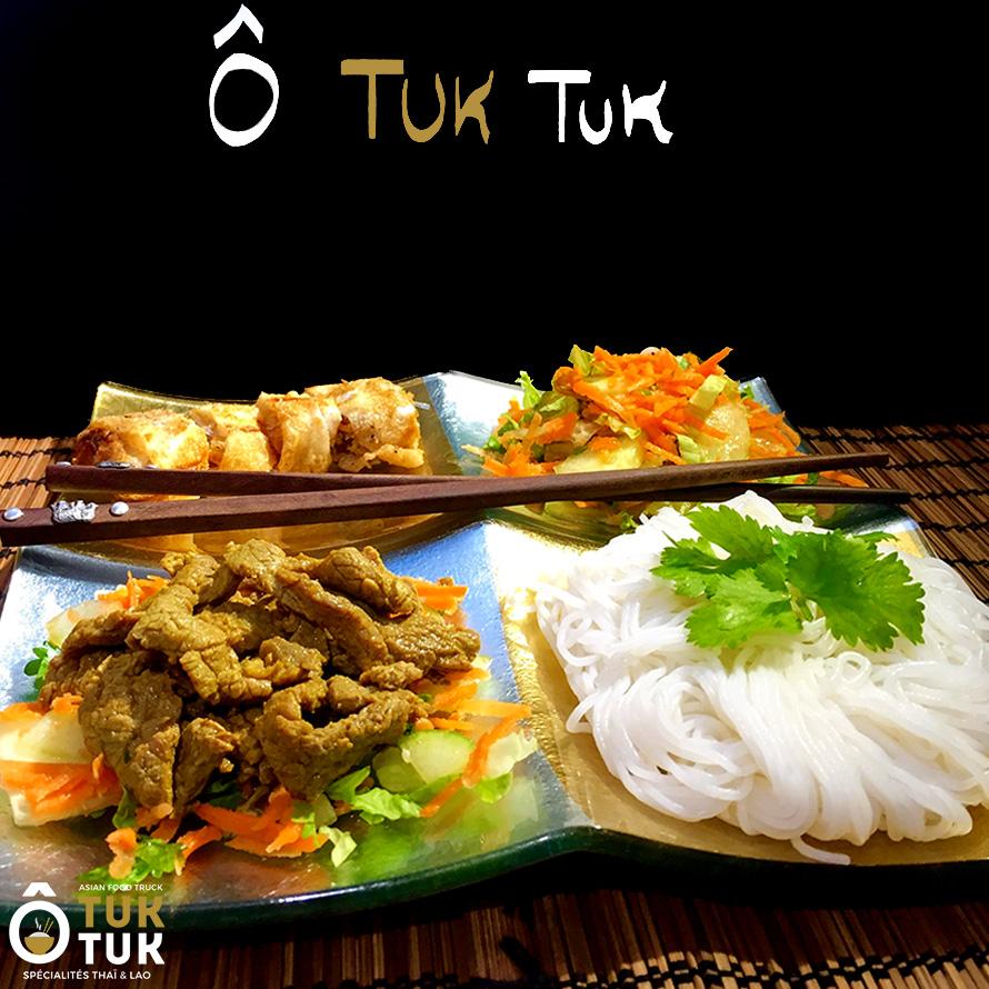 Plat bo bun cuisine thai toulouse