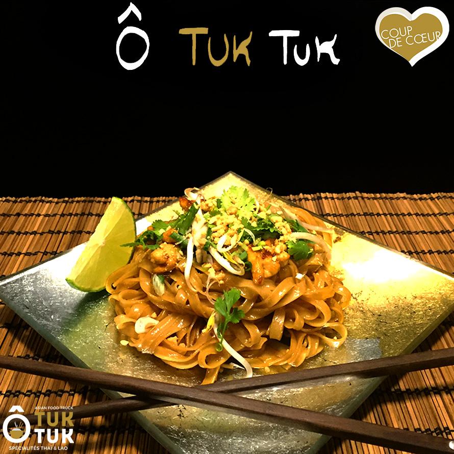 Menu de la semaine Nouilles sautées au poulet cuisine thaï Toulouse