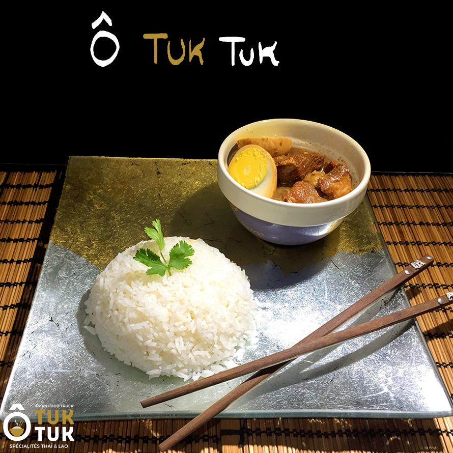 plat porc au caramel toulouse cuisine thai