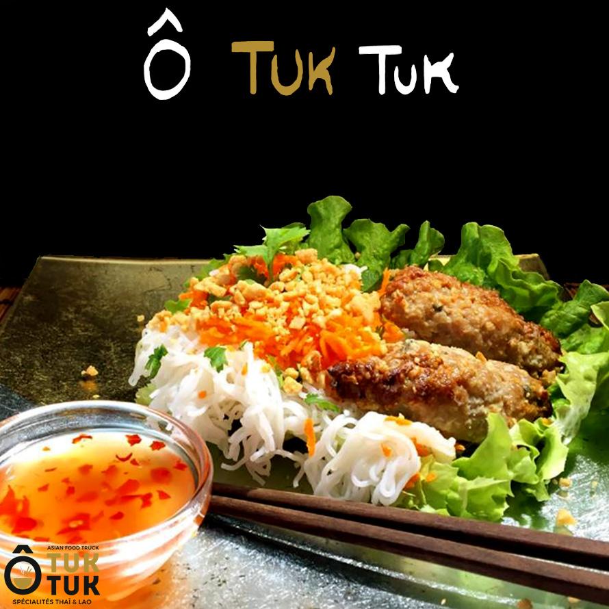 plat porc grillé cuisine thai toulouse